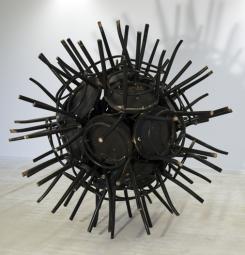 Bolwerk: 21 stoelen, 190 x 190 cm