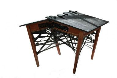 Monoloog: tafel, vlieseline, 110 x 80 x 70 cm