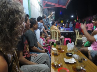 Koffietentje op festival